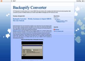 backupifyconverter.blogspot.in