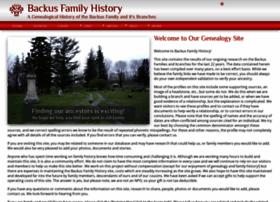 backushistory.info