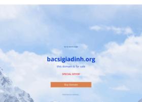 bacsigiadinh.org