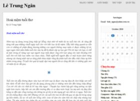bacsingan.vnweblogs.com