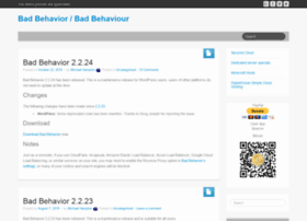 bad-behavior.ioerror.us