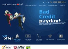 bad-credit-loans.me