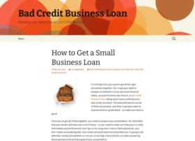 badcreditbusinessloantips.wordpress.com