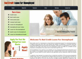 badcreditloansforunemployed.org.uk