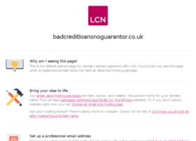 badcreditloansnoguarantor.co.uk