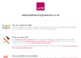 badcreditloansnoguarantor.co.uk