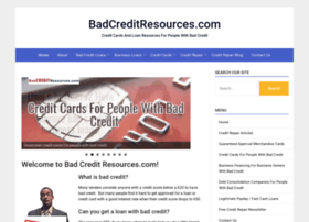 badcreditresources.com