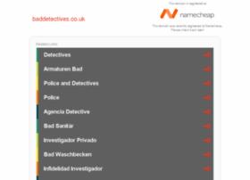 baddetectives.co.uk