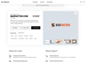 badfactor.com