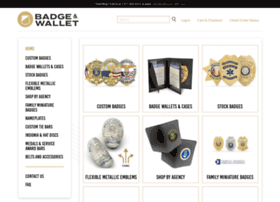 badgeandwallet.com