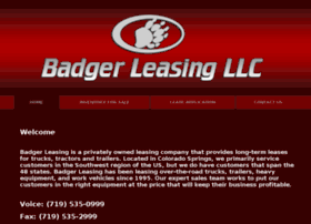 badgerleasing.com