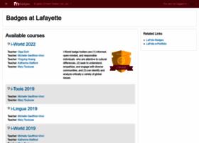 badges.lafayette.edu