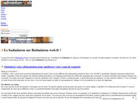 badminton-web.fr