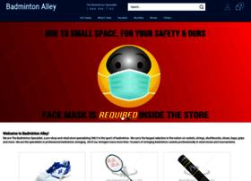 badmintonalley.com