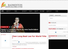 badmintonbangalore.com