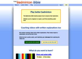 badmintonbible.com