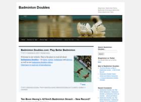 badmintondoubles.com