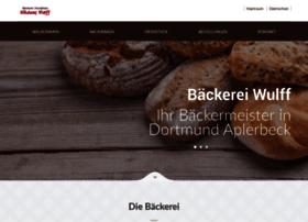 baeckereiwulff.de