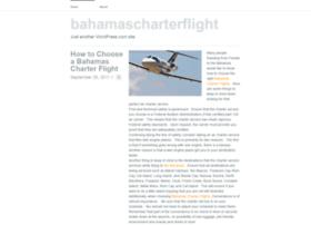 bahamascharterflight.wordpress.com