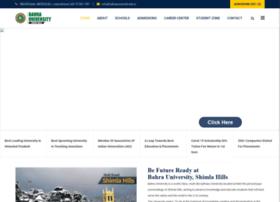 bahrauniversity.edu.in