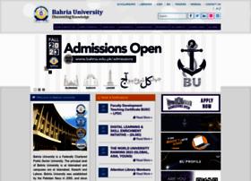 bahria.edu.pk