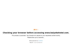 baiyokehotel.com