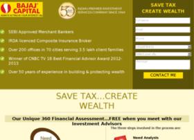 bajaj.investment-avenues.com