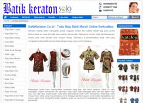 bajubatikkeraton.com
