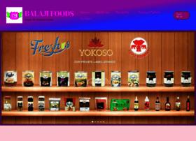 balajifoods.com