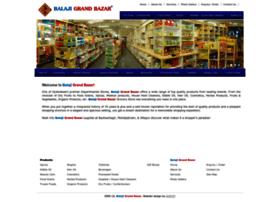 balajigrandbazar.com