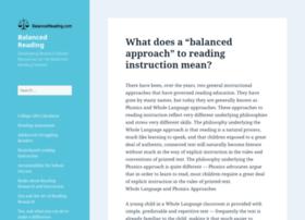 balancedreading.com