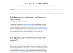 balanceofcowards.net