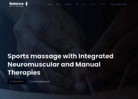 balancesportsmassage.com