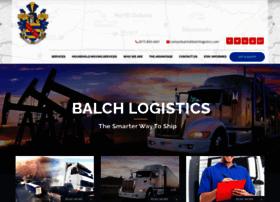 balchlogistics.com
