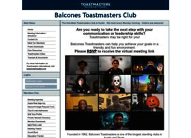 balcones.toastmastersclubs.org