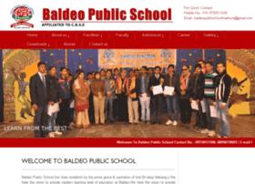baldeopublicschool.in