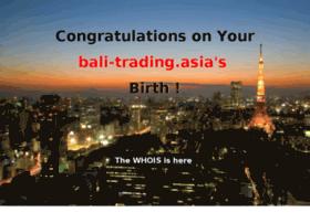 bali-trading.asia