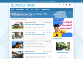 balibudgethousing.com
