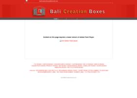 balicreationboxes.com