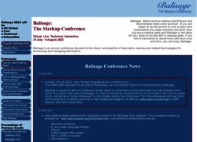 balisage.net