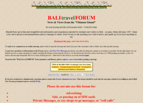balitravelforum.com