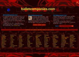 balletcompanies.com