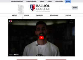 Balliol.ox.ac.uk