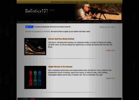ballistics101.com