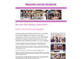 balloondecorsecrets.com