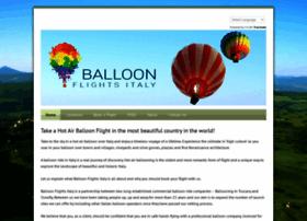 balloonflightsitaly.com