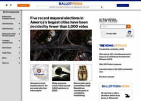 ballotpedia.org