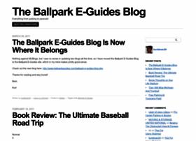 ballparkinsider.mlblogs.com