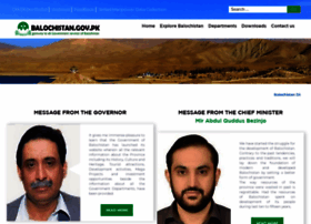 balochistan.gov.pk