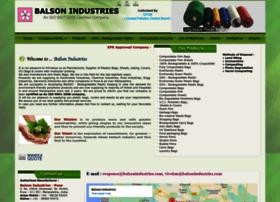 balsonindustries.com